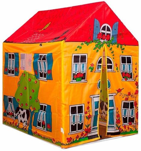casa casita carpa infantil granja juegos niños mundo manias