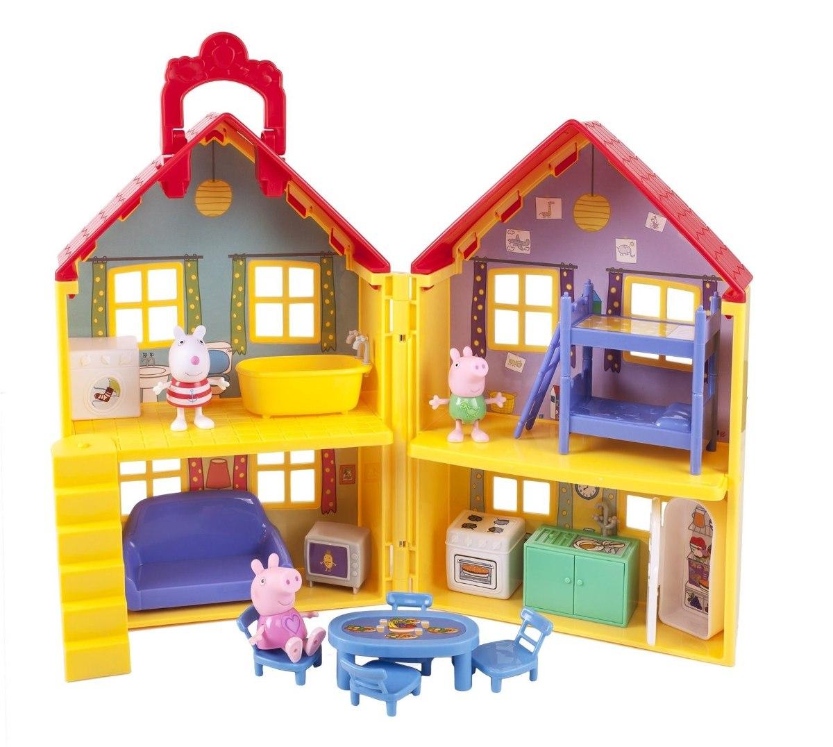 Casa casita de juego peppa pig 15 accesorios importada nick 1 en mercado libre - Accesorios para casa ...