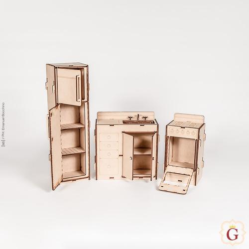 casa casita de muñecas barbie en fibro fácil con muebles