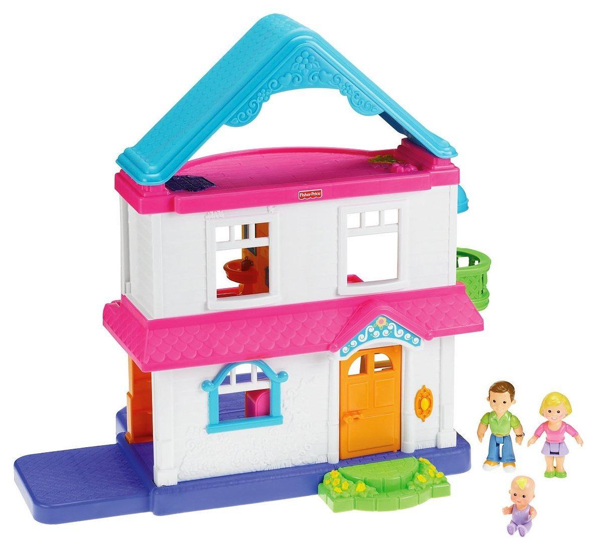 Casa casita de mu ecas para ni as juego fisher price mn4 - Casitas de juguete para ninas ...