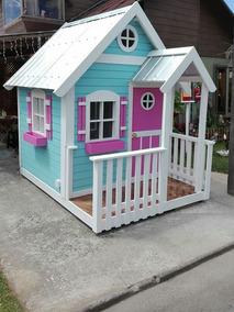 Casa Casita De Muñecas Para Niños Y Niñas Madera