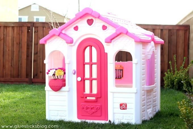 Casa casita step 2 infantil para tu princesa ext e interior 11 en mercado libre - Casitas de princesas ...