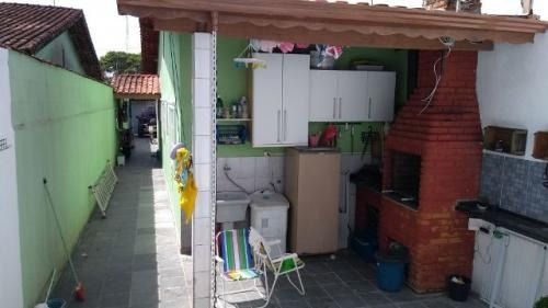 casa c/churrasqueira e piscina na praia itanhaem sp