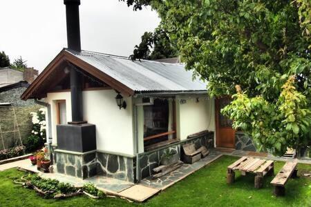 casa centro 3 amb y 1 baño  planta baja, jardin y parrilla