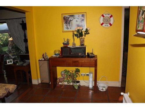 casa chilena un piso, condominio las flores - piedra roja, chicureo