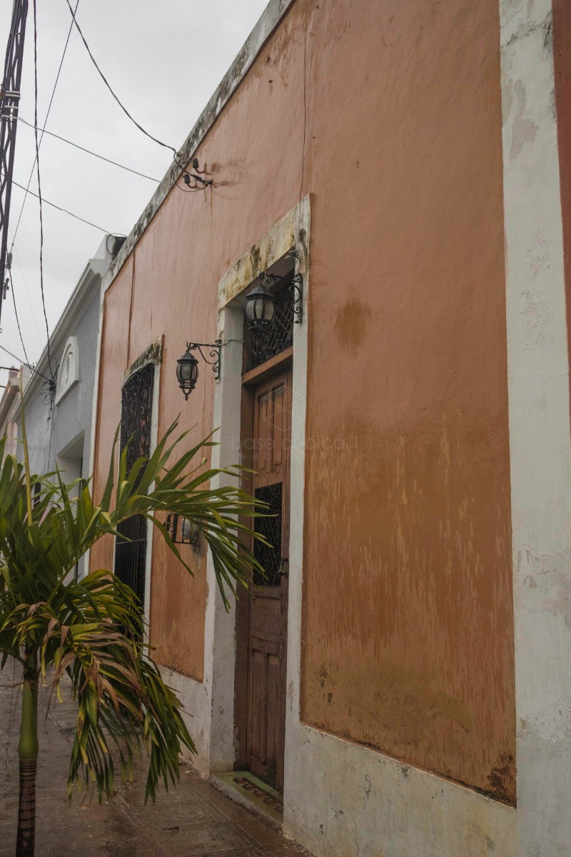 casa colonial en venta en el centro de mérida, excelentes condiciones