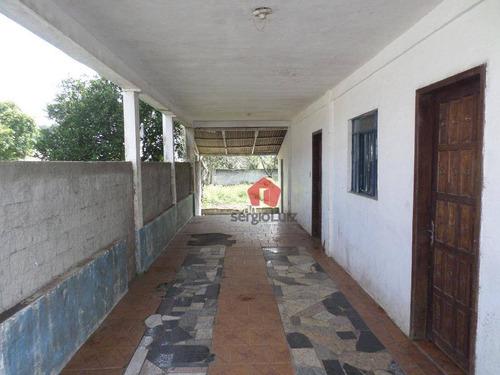 casa com 02 dormitórios para alugar, 70 m² por r$ 0/mês - roseira - são josé dos pinhais/pr - ca0086