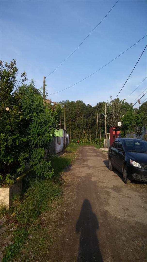 casa com 1 dorm, balneário itaguai, mongaguá - r$ 80 mil, cod: 6274 - v6274