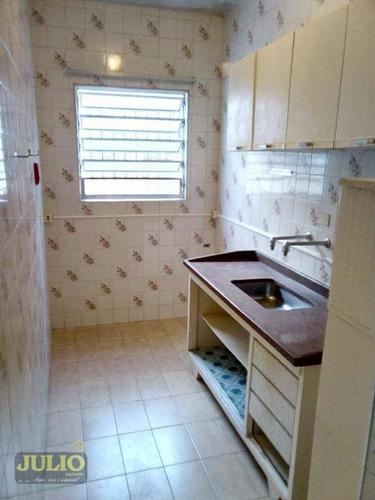 casa com 1 dormitório a apenas 200 metros da praia - vila caiçara - praia grande/sp - ca3571
