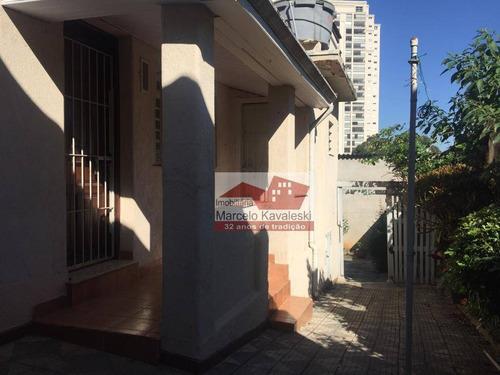 casa com 1 dormitório para alugar, 150 m² por r$ 1.800/mês - ipiranga - são paulo/sp - ca0829