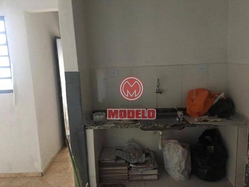 casa com 1 dormitório para alugar, 30 m² por r$ 550,00/mês - alto - piracicaba/sp - ca2606
