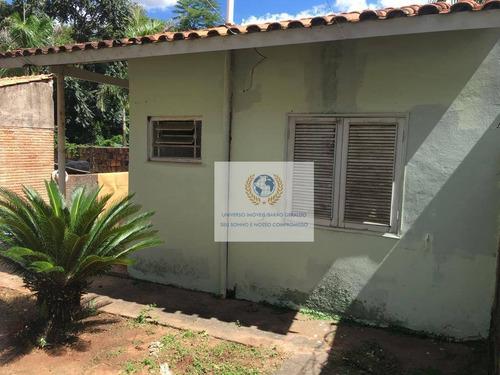casa com 1 dormitório para alugar, 30 m² por r$ 550,00/mês - cidade universitária - campinas/sp - ca1015