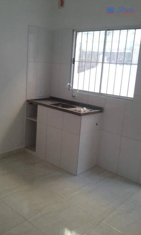 casa com 1 dormitório para alugar, 32 m² por r$ 680,00/mês - capela - vinhedo/sp - ca1143