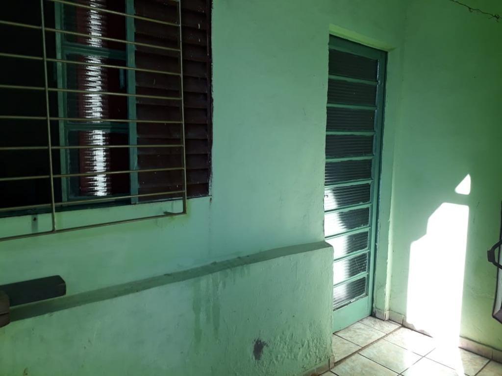 casa com 1 dormitório para alugar, 40 m² por r$ 550/mês - jardim turmalinas - santa bárbara d'oeste/sp - ca2048