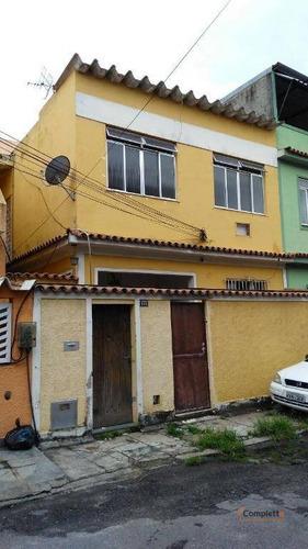 casa com 1 dormitório para alugar, 45 m² por r$ 1.300/mês - taquara - rio de janeiro/rj - ca0151