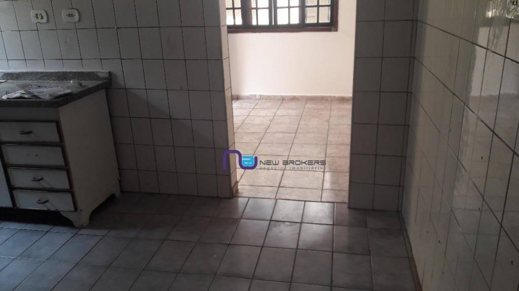casa com 1 dormitório para alugar, 45 m² por r$ 800/mês - vila guilhermina - são paulo/sp - ca0548
