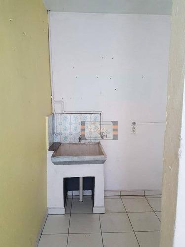 casa com 1 dormitório para alugar, 50 m² por r$ 1.200/mês - jardim cidade pirituba - são paulo/sp - ca0476