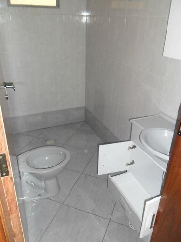 casa com 1 dormitório para alugar, 50 m² por r$ 750/mês - jardim rosa de franca - guarulhos/sp - ca0048