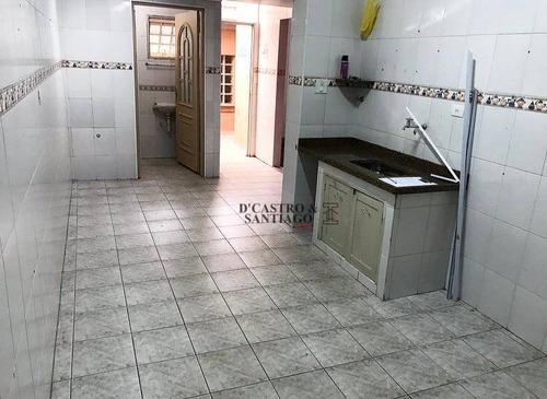casa com 1 dormitório para alugar, 55 m² por r$ 1.000,00/mês - mooca - são paulo/sp - ca0085