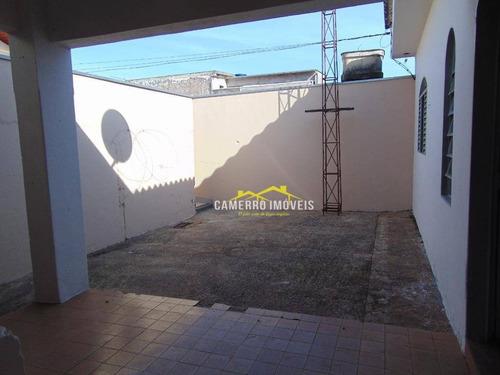 casa com 1 dormitório para alugar, 60 m² por r$ 650,00/mês - jardim pântano - santa bárbara d'oeste/sp - ca2206