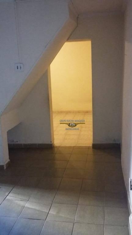 casa com 1 dormitório para alugar, 80 m² por r$ 1.100,00/mês - vila gomes cardim - são paulo/sp - ca0682