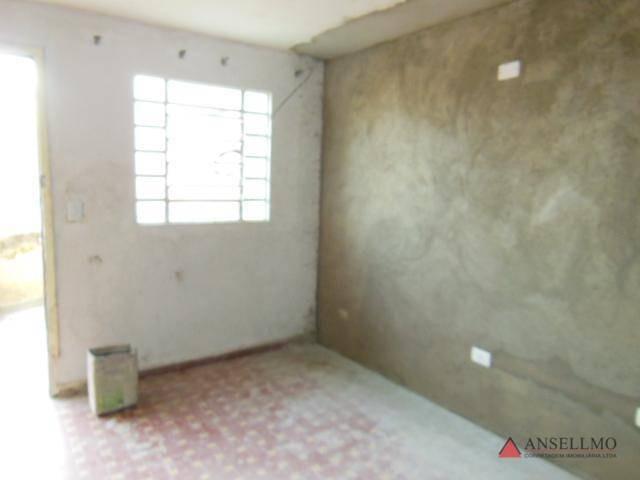 casa com 1 dormitório para alugar no baeta, 70 m² por r$ 1.200/mês - vila baeta neves - são bernardo do campo/sp - ca0456