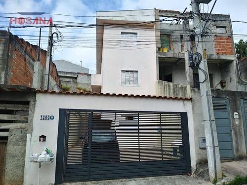 casa com 1 dormitório para alugar por r$ 650/mês - companhia fazenda belém - franco da rocha/sp - ca0260