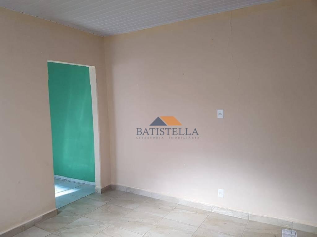 casa com 1 dormitório para alugar por r$ 700/mês - vila gioto - limeira/sp - ca0885