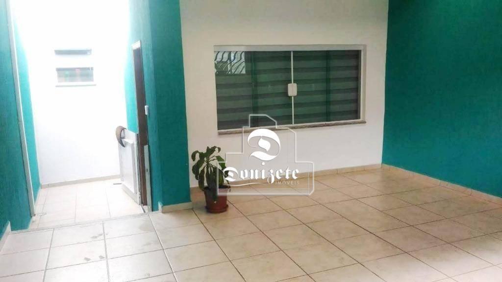 casa com 1 dormitório à venda, 102 m² por r$ 540.000 - centro - santo andré/sp - ca1003
