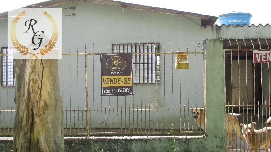 casa com 1 dormitório à venda, 300 m² por r$ 138.000,00 - passo do vigário - viamão/rs - ca0092