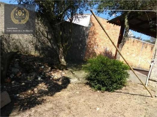 casa com 1 dormitório à venda, 36 m² por r$ 75.000,00 - itapuã - viamão/rs - ca0260