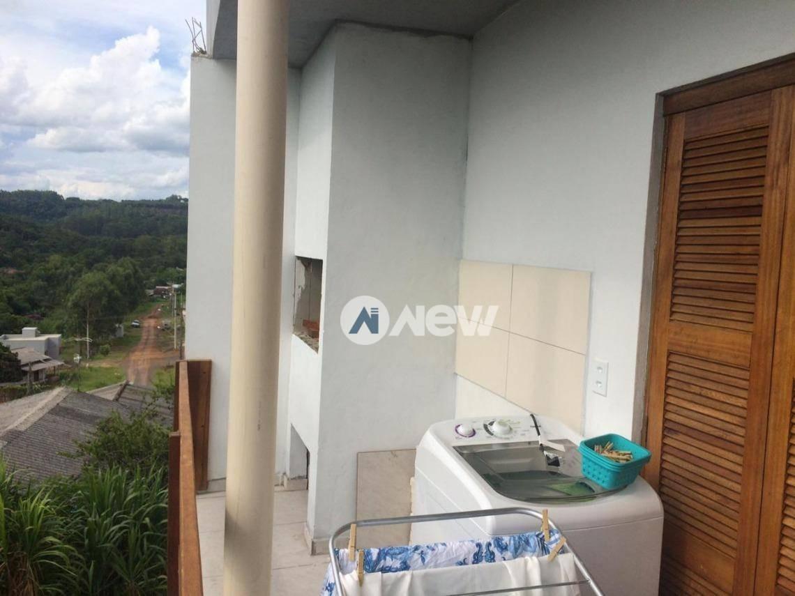 casa com 1 dormitório à venda, 68 m² por r$ 200.000 - floresta - estância velha/rs - ca2815