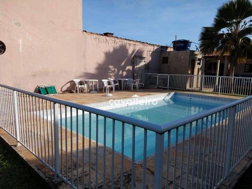 casa com 1 dormitório à venda, 70 m² - cordeirinho - maricá/rj - ca3716