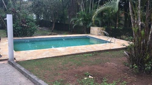 casa com 2 dorm. piscina e escritura, itanhaém - ref 4299-p