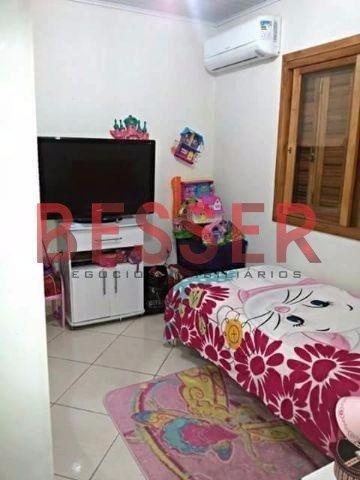 casa com 2 dormitorios e piscina em sapucaia - v-583
