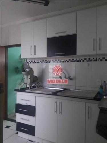 casa com 2 dormitórios para alugar, 100 m² por r$ 1.200/mês - santa terezinha - piracicaba/sp - ca2335