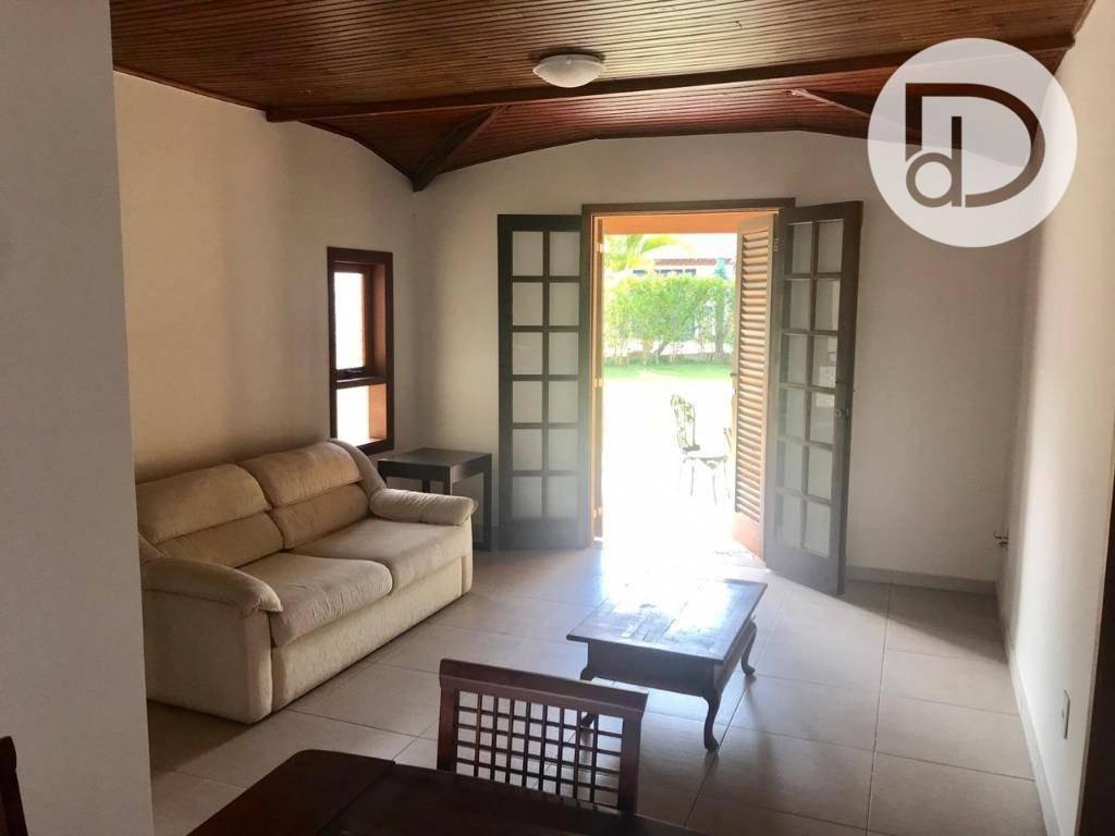 casa com 2 dormitórios para alugar, 100 m² por r$ 3.000,00/mês - condomínio vista alegre - sede - vinhedo/sp - ca1182