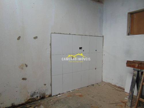 casa com 2 dormitórios para alugar, 100 m² por r$ 850,00/mês - jardim das orquídeas - santa bárbara d'oeste/sp - ca2094