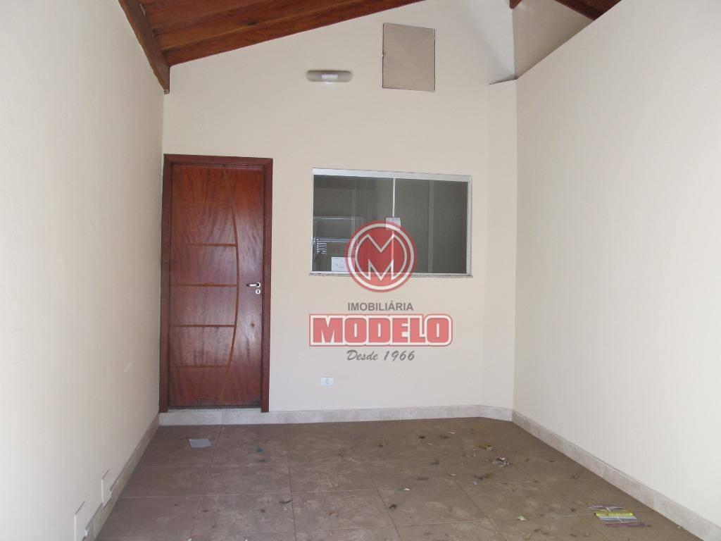 casa com 2 dormitórios para alugar, 100 m² por r$ 950/mês - loteamento santa rosa - piracicaba/sp - ca2685