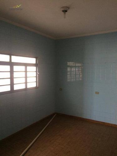 casa com 2 dormitórios para alugar, 102 m² por r$ 1.200/mês - jardim santo antônio - mogi guaçu/sp - ca1437