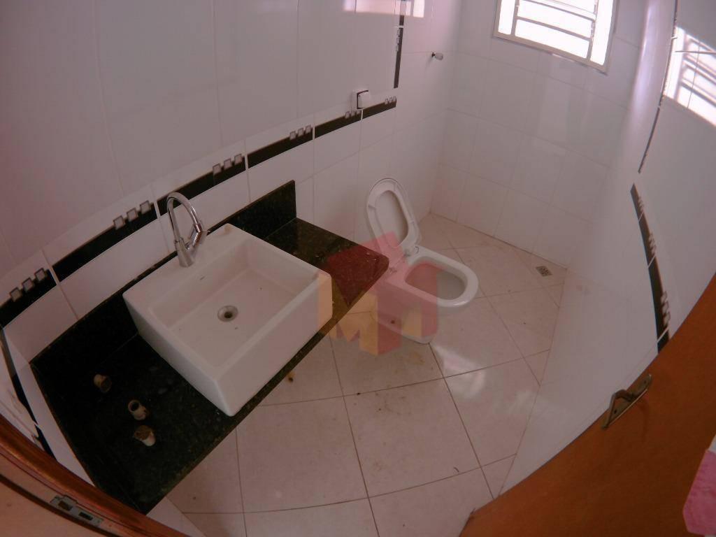casa com 2 dormitórios para alugar, 120 m² por r$ 1.500/mês - jardim brasília - americana/sp - ca0507