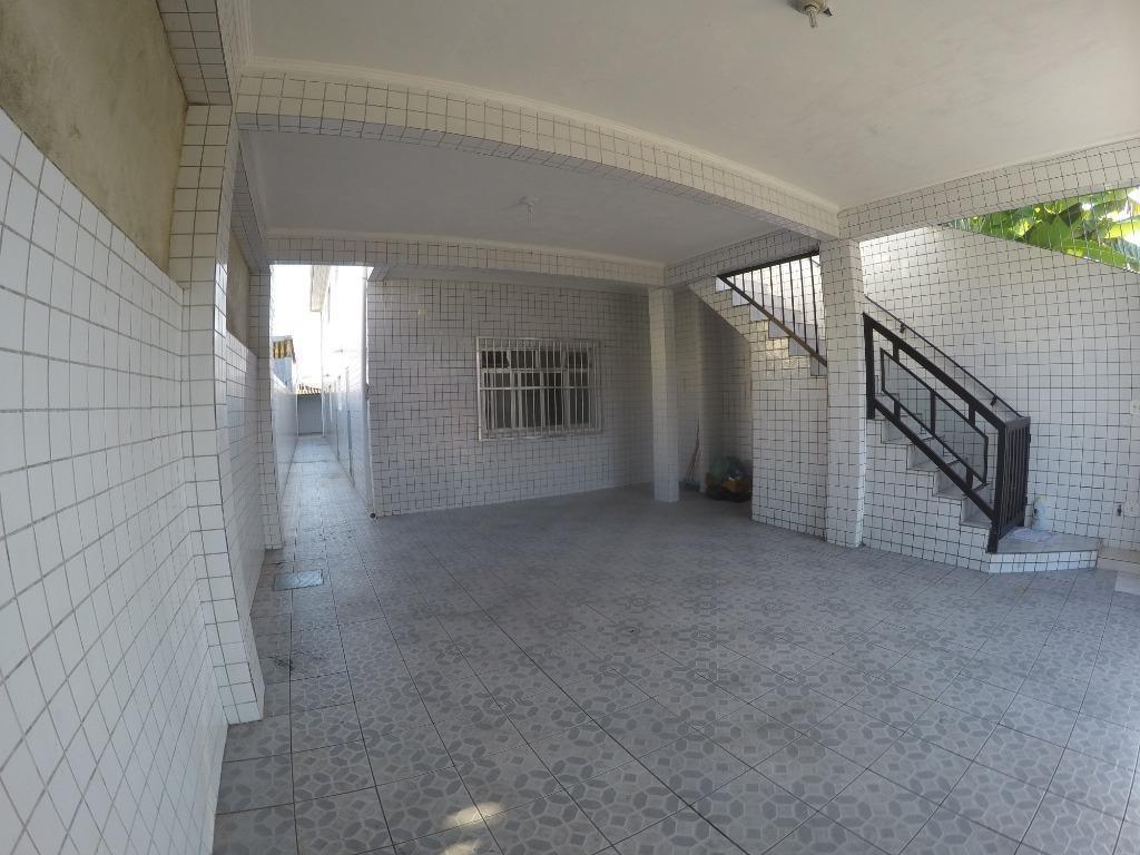 casa com 2 dormitórios para alugar, 138 m² por r$ 1.450,00/mês - tude bastos (sítio do campo) - praia grande/sp - ca0452