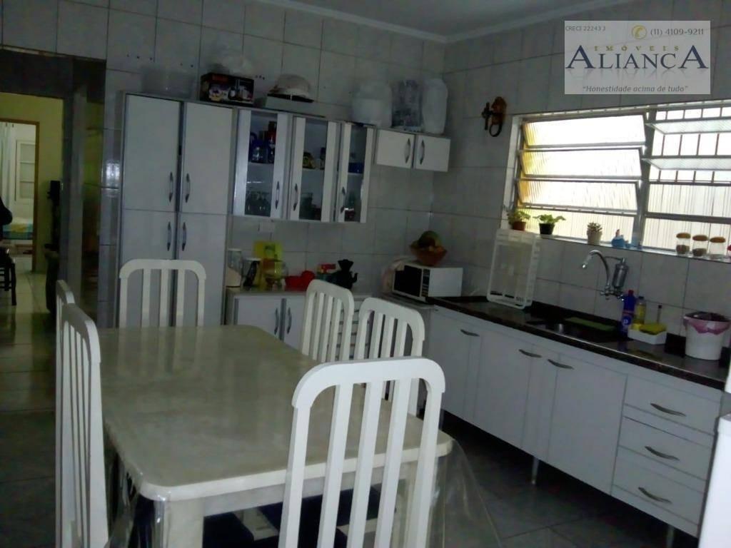 casa com 2 dormitórios para alugar, 150 m² por r$ 1.400,00/mês - cooperativa - são bernardo do campo/sp - ca0282