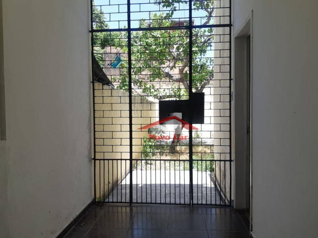 casa com 2 dormitórios para alugar, 150 m² por r$ 1.600,00/mês - fátima - fortaleza/ce - ca0214