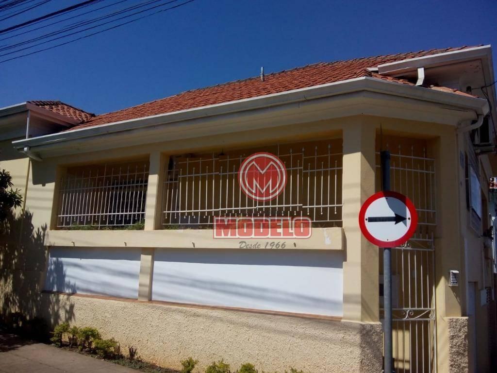 casa com 2 dormitórios para alugar, 155 m² por r$ 1.800/mês - alto - piracicaba/sp - ca2788