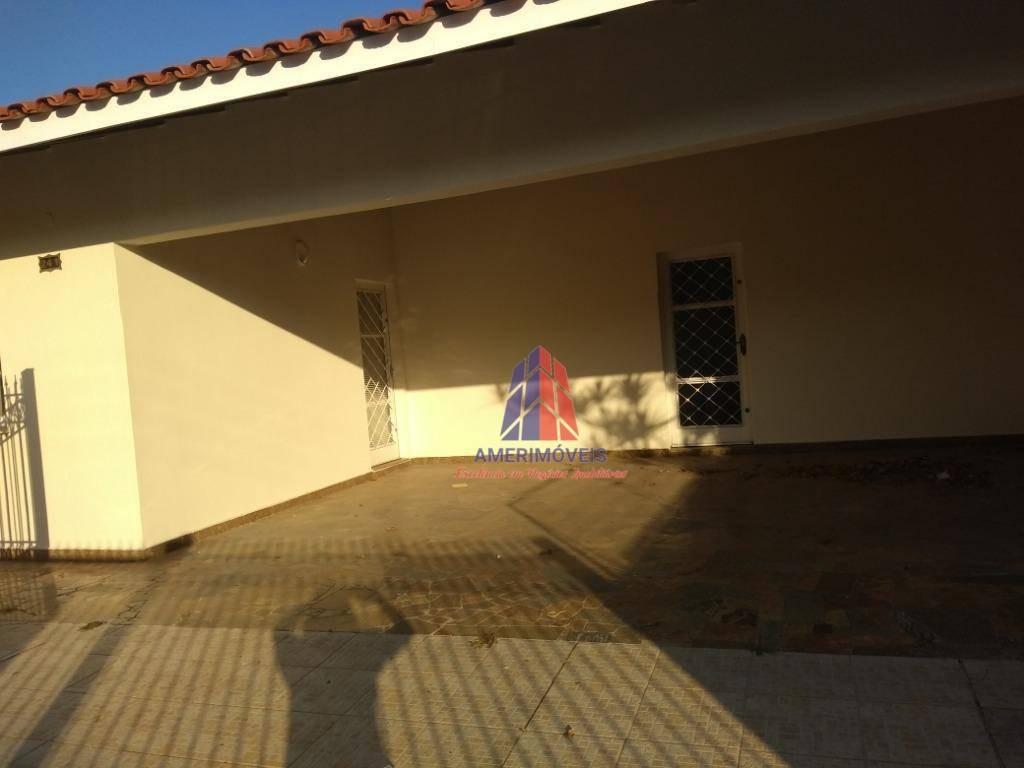 casa com 2 dormitórios para alugar, 170 m² por r$ 2.800,00/mês - jardim girassol - americana/sp - ca0736