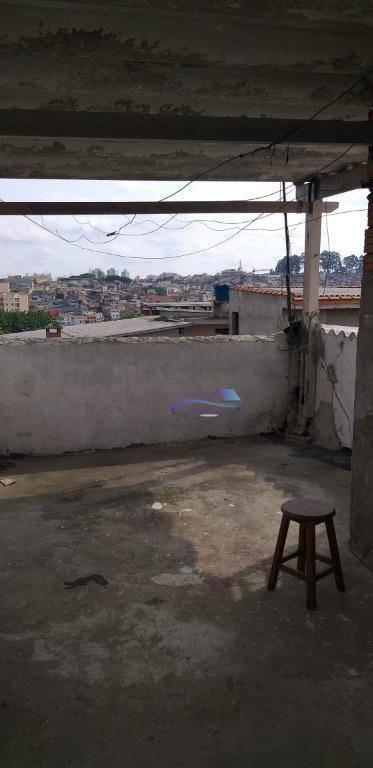 casa com 2 dormitórios para alugar, 30 m² por r$ 900/mês - jardim record - são paulo/sp - ca0075