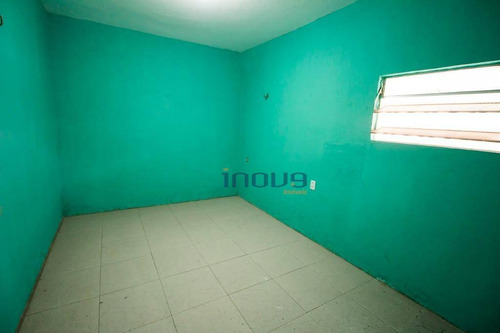 casa com 2 dormitórios para alugar, 40 m² por r$ 500/mês - mondubim - fortaleza/ce - ca0502