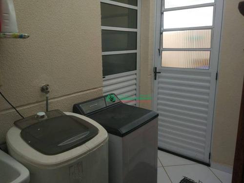 casa com 2 dormitórios para alugar, 59 m² por r$ 1.400/mês - parque santo afonso - vargem grande paulista/sp - ca5889