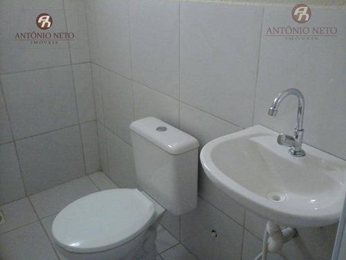 casa com 2 dormitórios para alugar, 60 m² por r$ 450/ano - itaperi - fortaleza/ce - ca0139